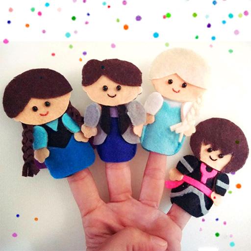 Finger Puppet Frozen