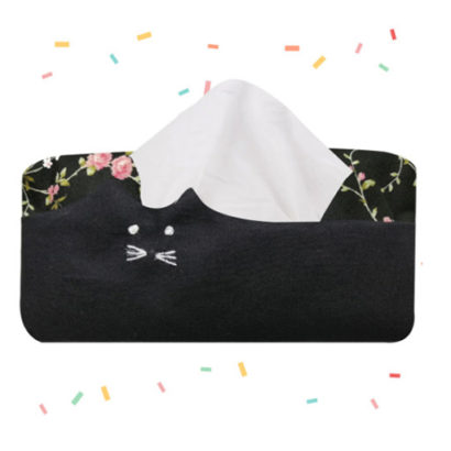 tempat tissue bentuk kucing